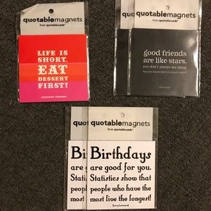 5 Quotable Magnets